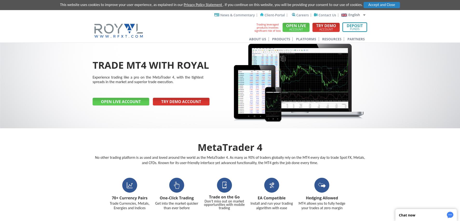 RFXT Broker platform