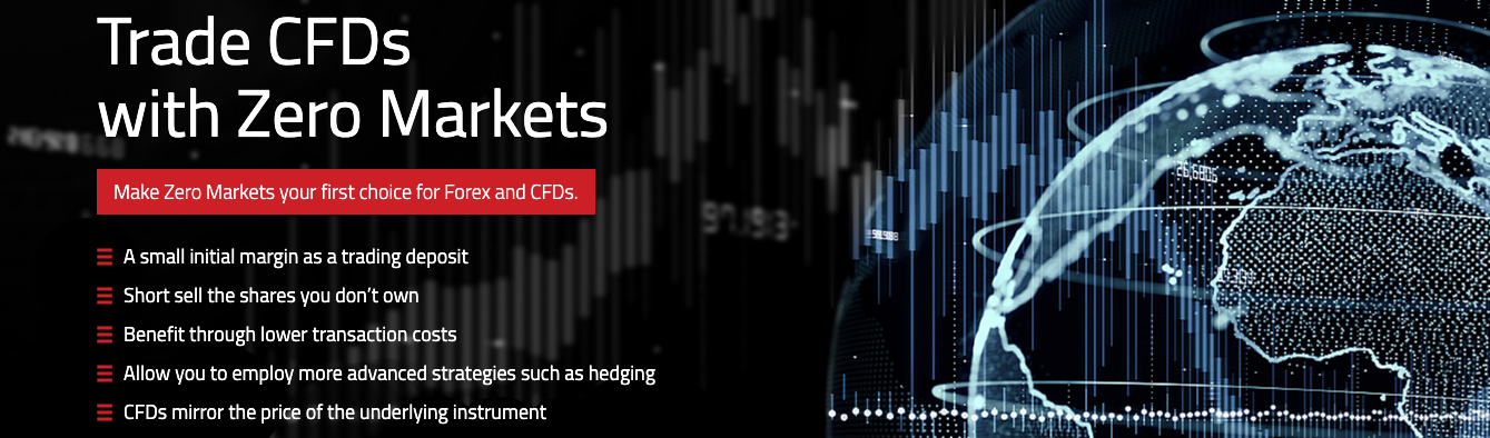 CFDs trading at Zero Markets reviewed