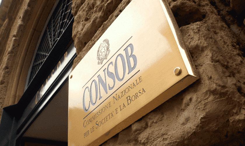 consob blocked several companies