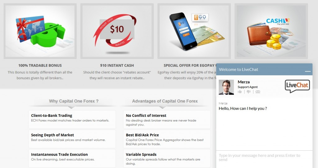 Capital One Forex Reviews