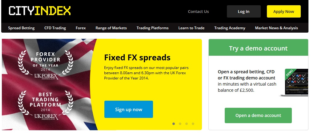 City Index Forex Trading Broker