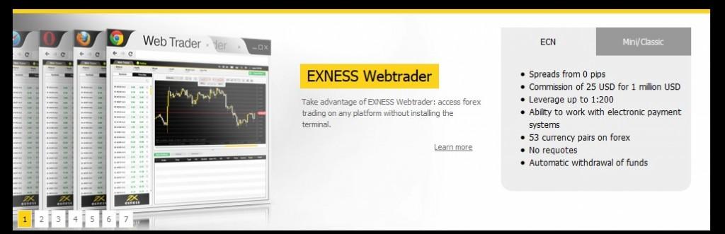 Exness Forex Trading Broker