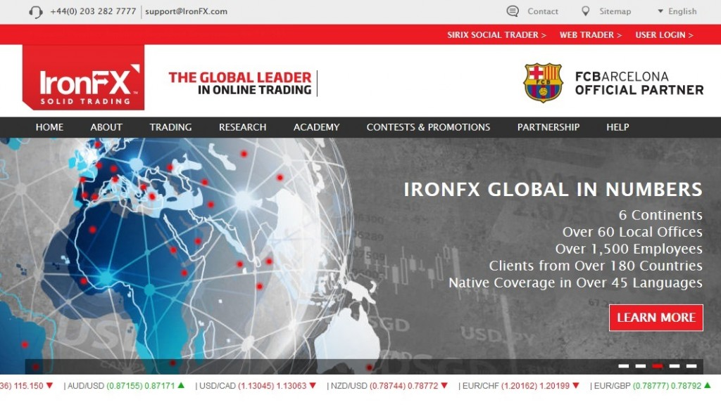 Ironfx forex broker review