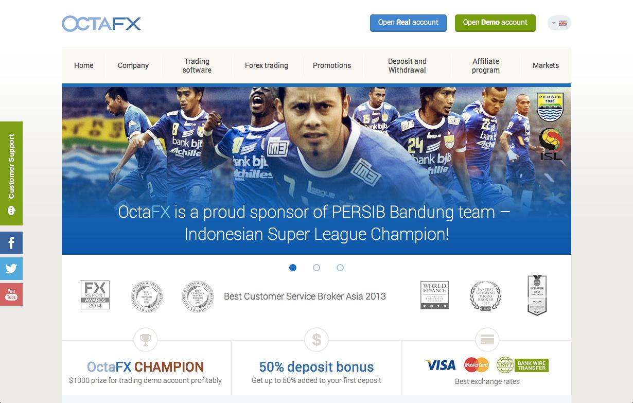 OctaFX Forex Trading Broker