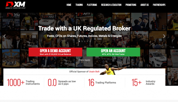 XM forex review broker
