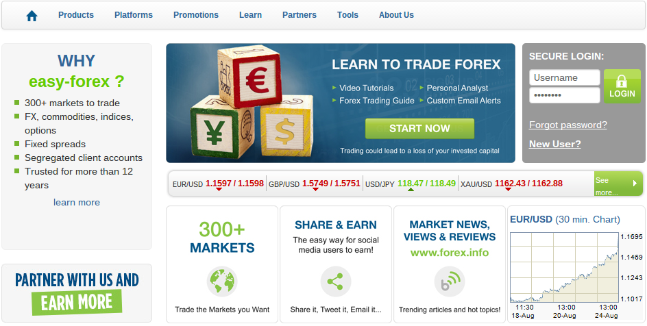 Easy-Forex Broker review
