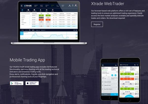 XTrade Reviews of Trading Platforms
