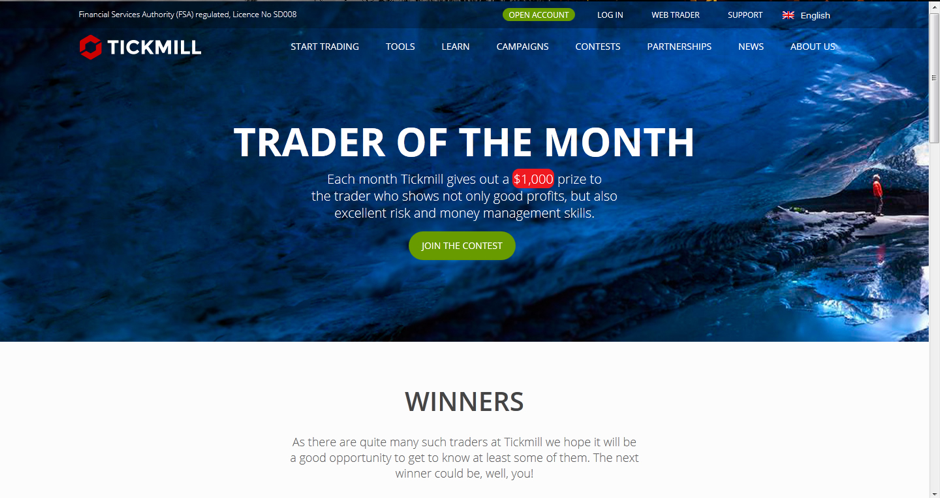 Tickmill Trader of the Month