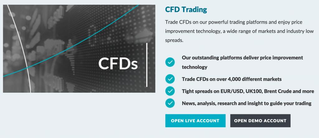 Konto handlowe CFD LCG