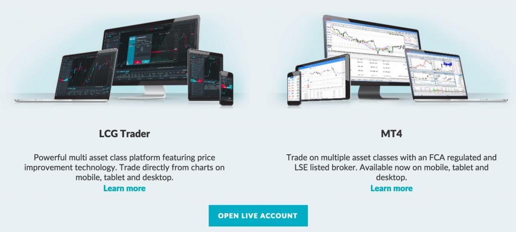 Recenzje platform handlowych na LCG