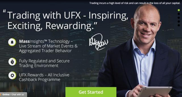 Rzut okiem na maklera UFX
