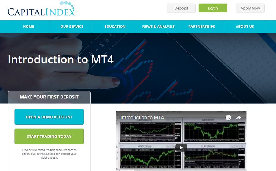 Plataforma de Capital Index