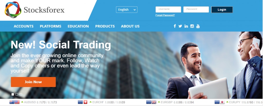 Stocksforex Review: About the company