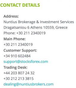 stocksforex-contact