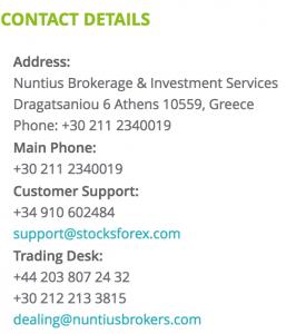 stocksforex-contact