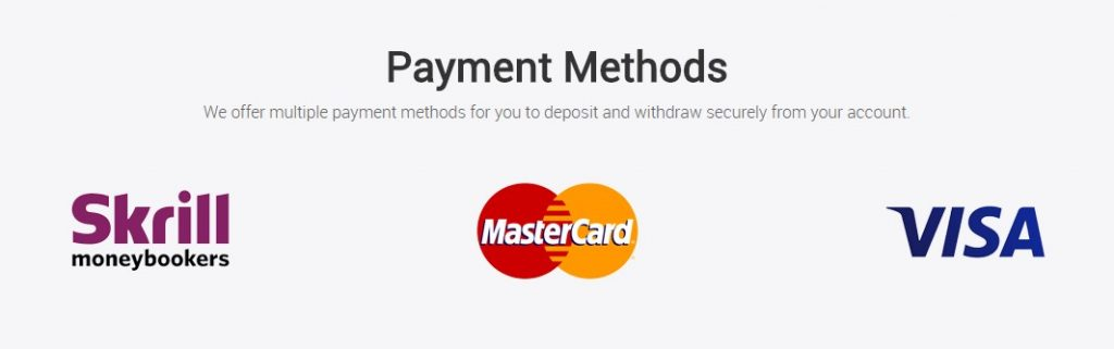 formax markets payment methods