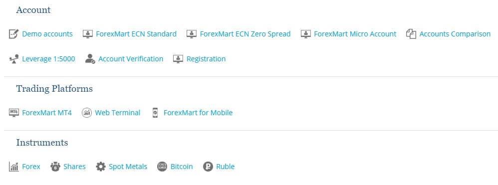 forexmart account application