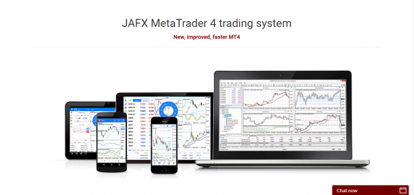 JAFX Platforms review