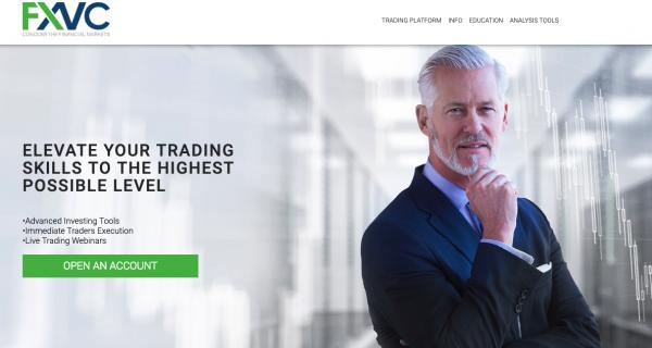 Review de la plataforma de trade internacional FXVC